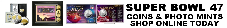 Shop For Super Bowl 47 Flip Coins at CollectibleShopping.com