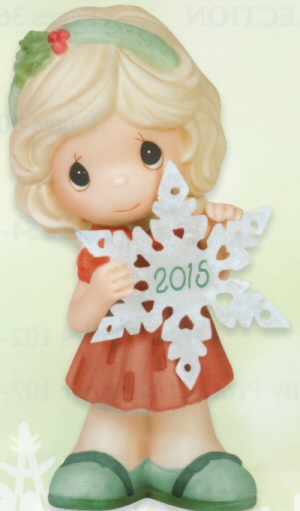 Precious Moments 2015 Dated Figurine