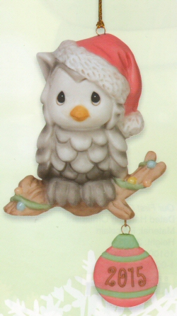 Precious Moments 2015 Owl Ornament