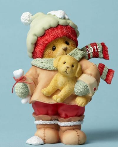 Cherished Teddies 2015 Dated Figurine