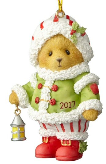 Cherished Teddies 2017 Dated Christmas Ornament