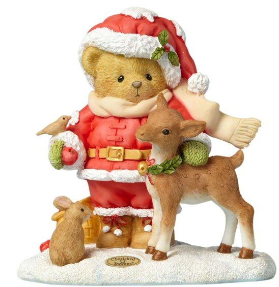 Cherished Teddies Share A Little Love - 2017 Annual Santa