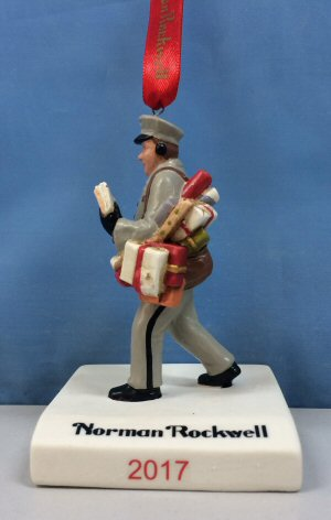 Norman Rockwell 2017 Christmas Ornament
