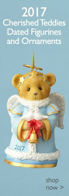 Cherished Teddies 2017 Christmas Ornaments and Figurines